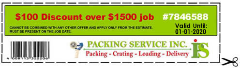 Packing Service Inc - Coupon#7846588