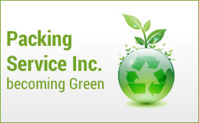 Packing Service Inc. Becoming Green