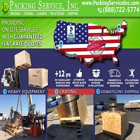 Crating and Shipping from JFK airport to Los Angeles