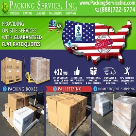 Pack Palletize and Ship from Fresno to Alaska