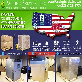 Palletized 3D PRINTER Machine and Ship from GA to CA