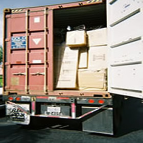 Containers packing loading services
