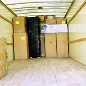 Truck packing loading services
